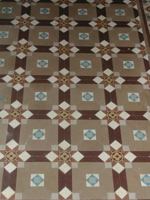 Victoria ceramic hall floor tiles