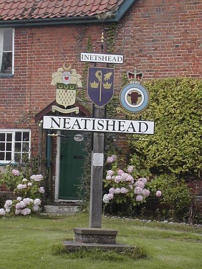 Neatishead village sign