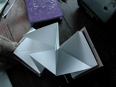 how a concertina book is constructed