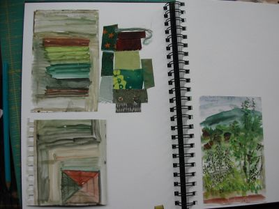 page of paint and colour