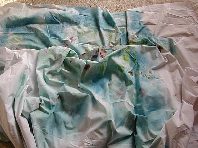 yet more dyed fabric
