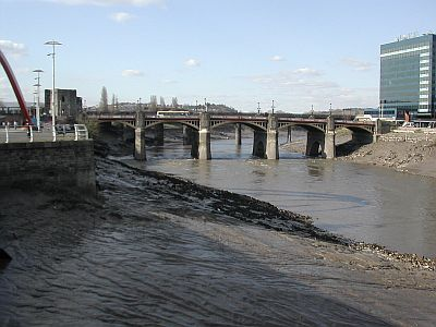 river and bridge