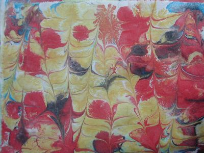 marbled fabric